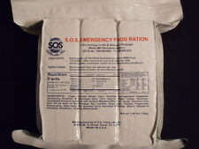 6 DAYS EMERGENCY SURVIVAL FOOD RATIONS 2/3600 Calorie Packs 18 MEALS 5 YEARS