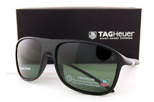 Brand New TAG Heuer Sunglasses 27 Degree 6041 301 Black/Green Polarized for Men