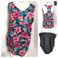 5b31026a321 Style  Bikini Top. 2 Piece Plus Swimsuit Women Size 22W 22 Women s AVA VIV  20W 22W Floral NWOT
