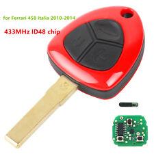 3 button Smart  Remote Key Fob 433 MHZ for Ferrari 458 Italia California 599 GTB