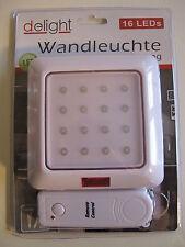 LED Wandleuchte mit Fernbedienung