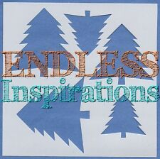"6""x6""Endless Inspirations Stencil, Christmas Tree - Free Us Shipping"