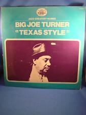 Big Joe Turner Texas Style Black And Blue France Import LP VG+