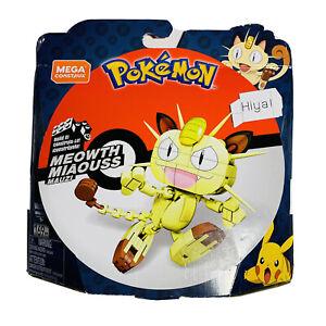 Pokemon Meowth Mega Construx Build It Set Building Blocks GKY98 169pcs 7+ NEW