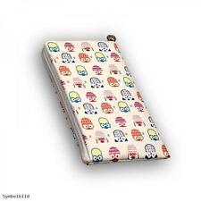 Universal Handy Tasche Cover Schutz Case Hülle Etui Schutztasche Owls White L-4