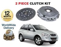 FOR SSANGYONG KYRON 2.0 TD DIESEL 2006-> NEW 2 PIECE CLUTCH KIT EO QUALITY