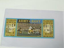 1971 Army vs Navy Ticket Football Game