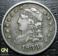1833 P Capped Bust Half Dime  --  PRICED TO SELL  #W2007  ZXCV