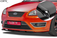 SPLITTER FRONT LIP CARBON LOOK FRONT BUMPER FOR FORD FOCUS ST MK2 05-07 CSL135-C