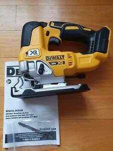 DeWALT DCS334B DCS334 20-Volt Brushless Jig Saw - Bare Tool - NEW