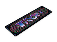 Tron Arcade Sign, Classic Arcade Game Marquee, Game Room Tin Sign A655
