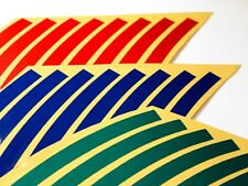 Roue autocollant Jante Bande Rayures-SUZUKI BANDIT 600 650 S 1200 1250 S GS500 GS500F