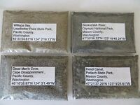 Heavy Black Magnetic New York 2 Diff Raquett River Sand Samples