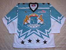 SWAO MOSCOW - Cyan Russian Hockey Jersey #46 Serov 2XL
