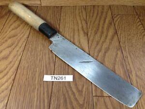 Japanese Chef's Kitchen Knife NAKIRI HOCHO Vintage / from Japan 168/318mm TN261