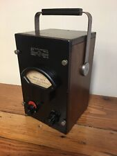 Antique Ge General Radio Co. Crystal Galvanometer Type 1802A Serial 71 Wood Case