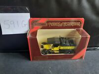 Matchbox Models of yesteryear Y-13 1918 Crossley with Kohle and Koks