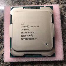 Intel Core i7-6800K - 3.4 GHz 6-Core (CM8067102056201) Processor