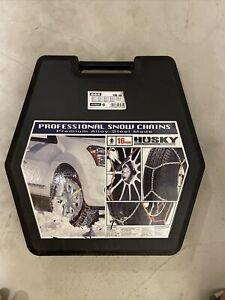 Pair Of Car Snow Chains Tyre Grip Husky 16mm Professional Premium Grade KN265