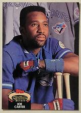 1992 Topps Stadium Club #10 JOE CARTER - Toronto Blue Jays - NM/Mint