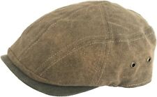 Stetson Weathered Cotton Ivy Cap Scally Modern Cut Driver Patchwork Newsboy Hat