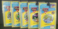 5 Lot Leap Frog Leap Pad Learning System Books & Cartridges Phonics And Music