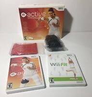 EA Active Personal Trainer (Nintendo Wii) Complete in box And Wii FIT Disc