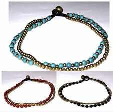 Howlite Fashion Anklets