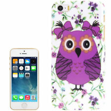 Owl Pattern Plastic Case for iPhone 5 & 5S SE
