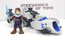 Playskool Star Wars Galactic Heroes Jedi Force Barc Speeder Anakin Skywalker