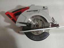 "Black & Decker 18v Firestorm Circular Saw 6-1/2"" FS1806CSL Bare Tool Only Tested"