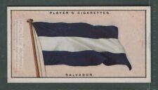 The Flag Of Salvador 1920s Ad Trade Card