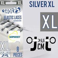 Silver Zilveren Shoeps XL 8 stuks Schoenveters