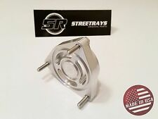StreetRays Billet HKS BLOW OFF VALVE BOV ADAPTER FOR HYUNDAI GENESIS 2.0L TURBO