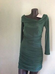 NWT Bardot Miss Guided green dress size 10