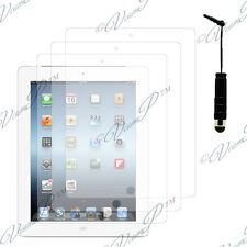 3x Pellicole protettive scudo mini stilo IPAD 4 3 2 Nuovo iPad Retina