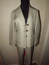 Nurture Linen Blend Pant Suit Size Blazer XS / Pant S - Career Suit - VERY NICE