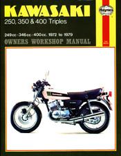 Haynes Workshop Manual Kawasaki 250 350 400 Triples 1972-1979 Service Repair