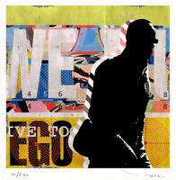 TABLEAU ART CONTEMPORAIN Love affair Reproduction TEHOS serie limitee 250 ex