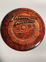 New Disneyland Indiana Jones Adventure February 1995 Grand Opening Button