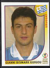 Panini Football - World Cup 2002 - Sticker No 69 - Uruguay - Gianni Guigou