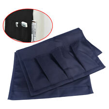 4-Pockets Organizer Storage Bag Pouch Couch Sofa Arm TV Remote Control Holder