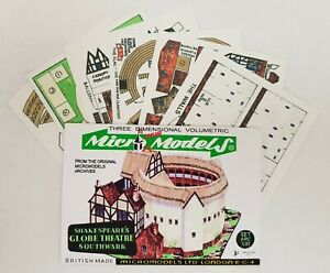 Micromodels Set ARC XIII Shakespeare's Globe Theatre Micro New Models card kit