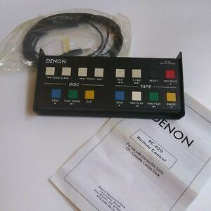 DENON DN-T620 REMOTE RC-620 FOR CD - Cassette Combination Deck Player