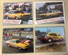 Lot Of 4 Dyno Dan Mustang II Drag Car Photos 8x10 High Quality Color