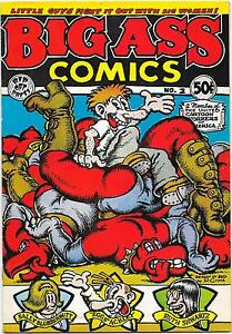 Big Ass Comics #2, 1st printing Rip Off Press 1971, R. Crumb VG/FN