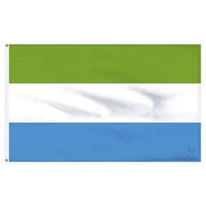 3x5 Sierra Leone Flag 3'x5' House Banner Brass Grommets fade resistant premium