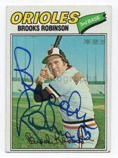 Brooks Robinson - MLB Baseball, Baltimore Orioles - Signed Trading Card