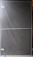 5avail 46x83 Vintage Steel Metal Fence Gate Door Panel Grille Industrial Factory