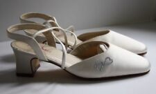 Rainbow Club Mid Heel (1.5-3 in.) Strappy/Ankle Straps Bridal Shoes
